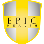 EH Logo Gradient Shield With Black Text